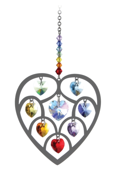 Pure Radiance Large Heart of Hearts - Chakra