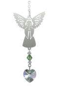Birthstone Angel Suncatcher August