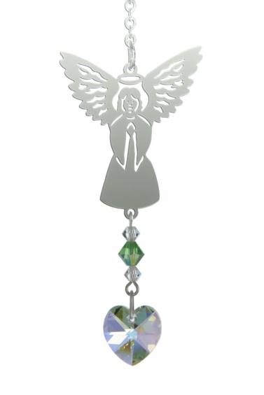 Birthstone Angel Suncatcher August