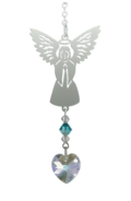 Birthstone Angel Suncatcher December