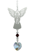 Birthstone Angel Suncatcher January