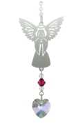 Birthstone Angel Suncatcher July