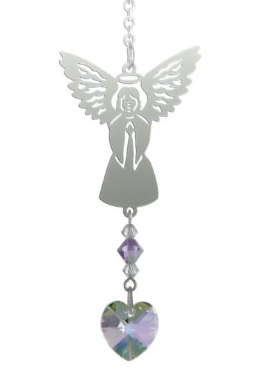 Birthstone Angel Suncatcher June