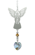 Birthstone Angel Suncatcher November