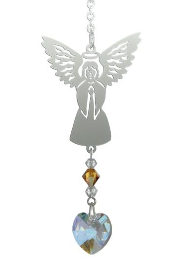 Birthstone Angel Suncatcher November