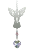Birthstone Angel Suncatcher October