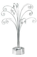 Rotating Display Fountain Silver