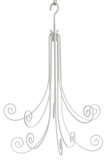 Hanging Display White