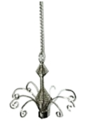 12cm Hanging Display Silver