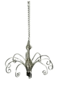 16cm Hanging Display Silver