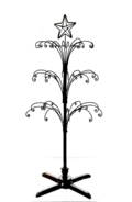 4ft Tree Display Black