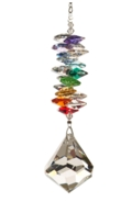 Large Rainbow Cascade Bell 40mm