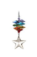 Medium Rainbow Cascade Star 28mm