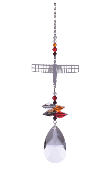 Crystal Fantasies Angel of the North -Russet Red