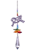 Crystal Fantasies Cow - Rainbow