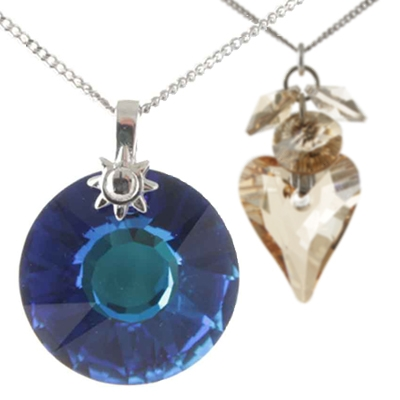 Crystal Jewellery with Swarovski Crystals