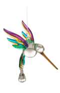 Fantasy Glass Hummingbird Tropical