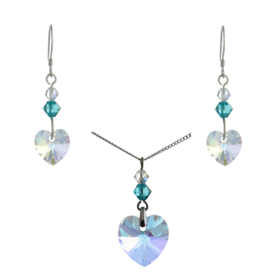Birthstone Heart Jewellery
