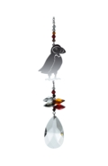 Crystal Fantasy Puffin - Russet Red