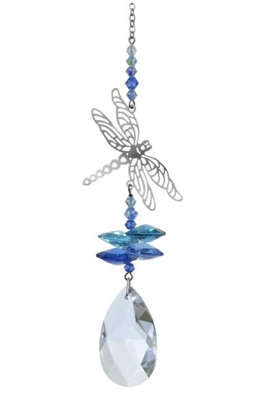 Crystal Fantasies Dragonfly - Royal Blue