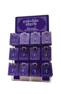 Guardian Angel Pin Starter Pack 72 pins with Display