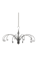 22cm Hanging Display Silver