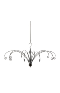 30cm Hanging Display Silver