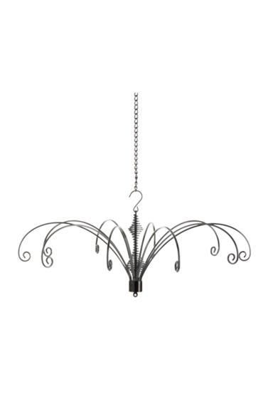 30cm Hanging Display Silver