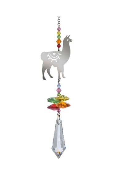 Crystal Fantasy Llama - Tropical