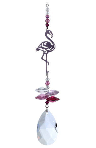 Crystal Fantasies Flamingo - Deep Rose