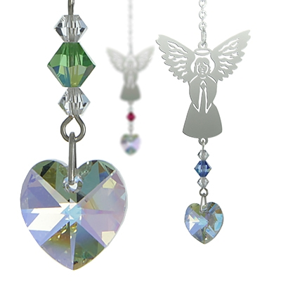 Birthstone Angel Suncatchers
