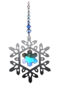Pure Radiance Small Snowflake - Royal Blue