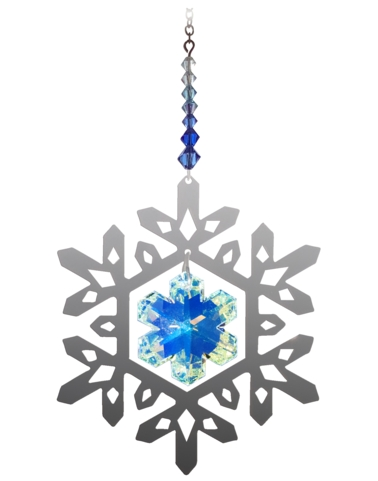 Large Snowflake - Royal Blue