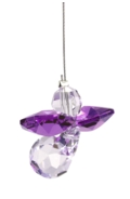 Classic Crystal Guardian Angel Amethyst