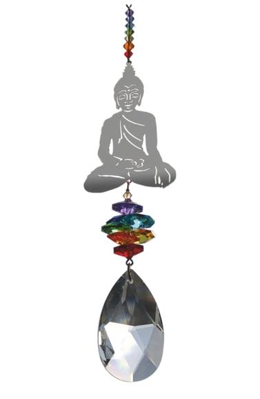 Large Crystal Fantasies Buddha - Chakra