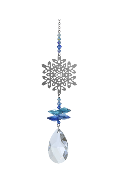 Crystal Fantasies Snowflake - Royal Blue