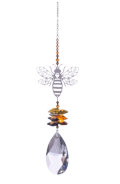 Large Crystal Fantasies Bee - Autumn Gold